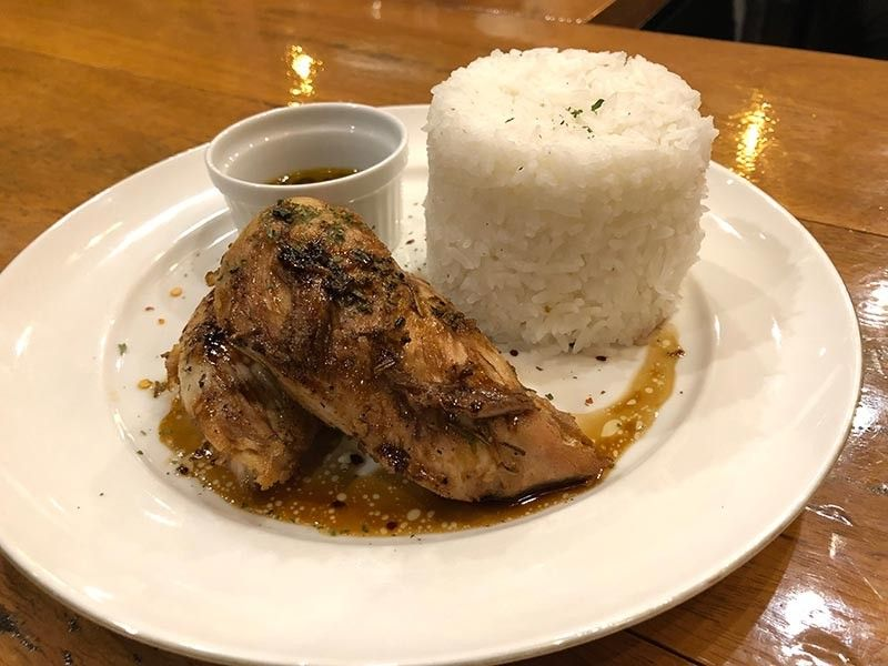 Pan-seared chicken breast (Reuel John F. Lumawag)
