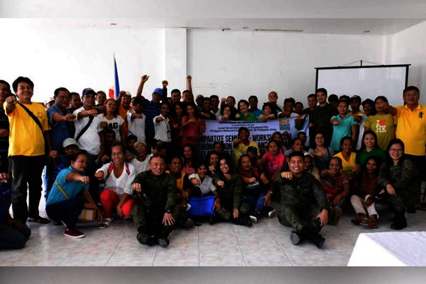NEGROS. Agrarian reform beneficiaries from Escalante City and other participants of the two-day seminar on
