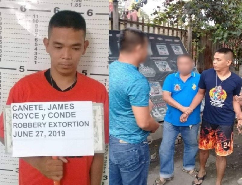 CEBU. A member of the Bureau of Fire Protection Central Visayas is facing extortion charges following his arrest in an entrapment operation in Centro, Mandaue City  (Photo courtesy of CIDG Central Visayas)