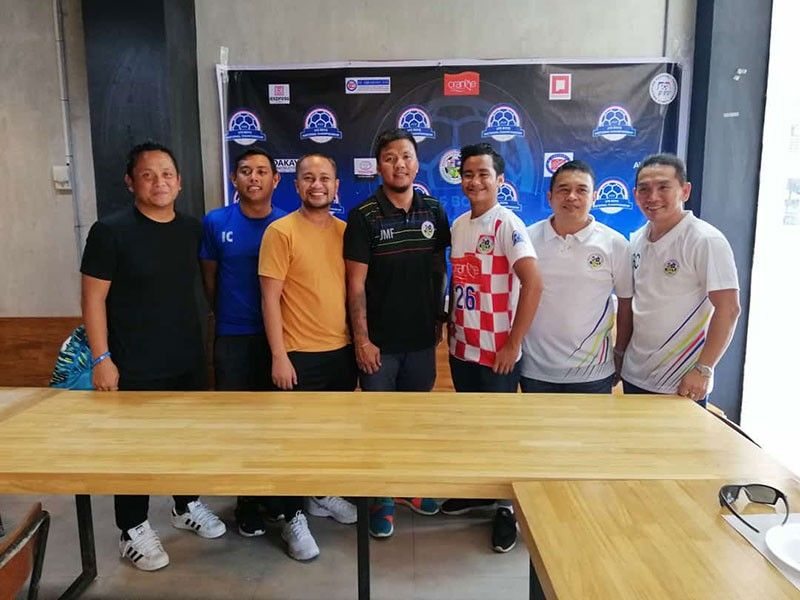 THREE MONTHs LONG. Officials and coaches from the Negros Occidental Football Association and Central Visayas Football Association say they are ready for the three-month-long Boys 15 tournament. (SunStar Photo/Mike T. Limpag)
