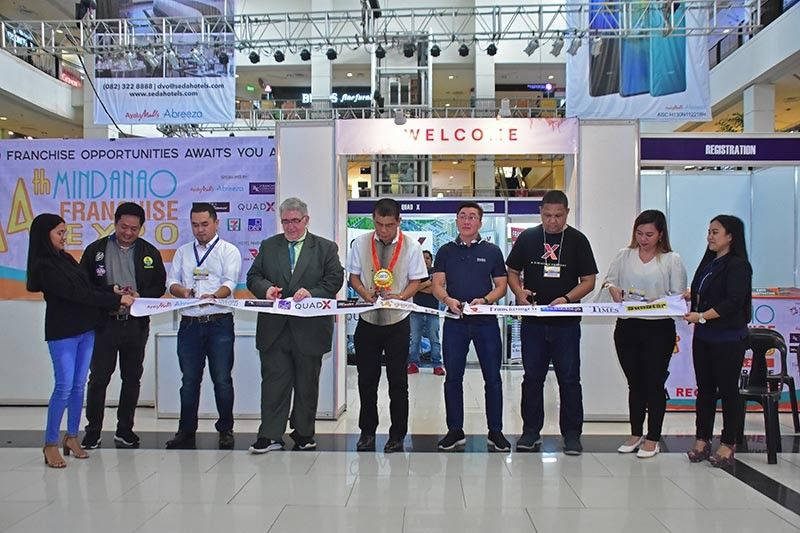 DAVAO. More franchisors from Luzon are encouraged to expand in Mindanao for its growing market through participating in the franchising expo activities. (Photo by Macky Lim)