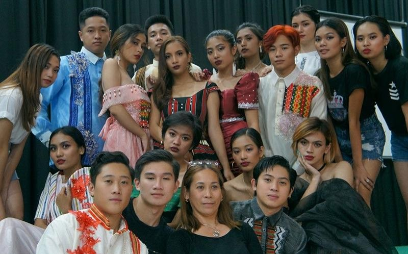 The youth take center stage at the Alpha Ultima Models and Fashion Launching last June 1 at the Gesdan Centrum and was participated in by other modeling groups.