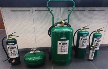 These are the variants of the new generation automatic type fire protection gadgets by Fabricotti Mobili Trading Corp. (Contributed photo)