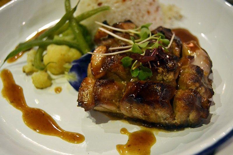 Tuna Belly BBQ with Muscovado Glaze (Photo by Reuel John F. Lumawag)