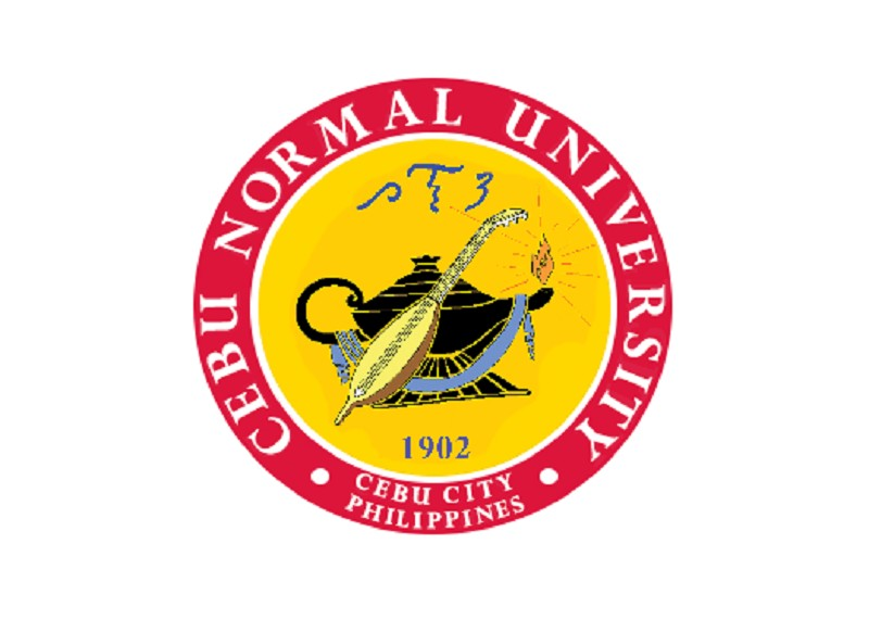 Cebu Normal University logo.
