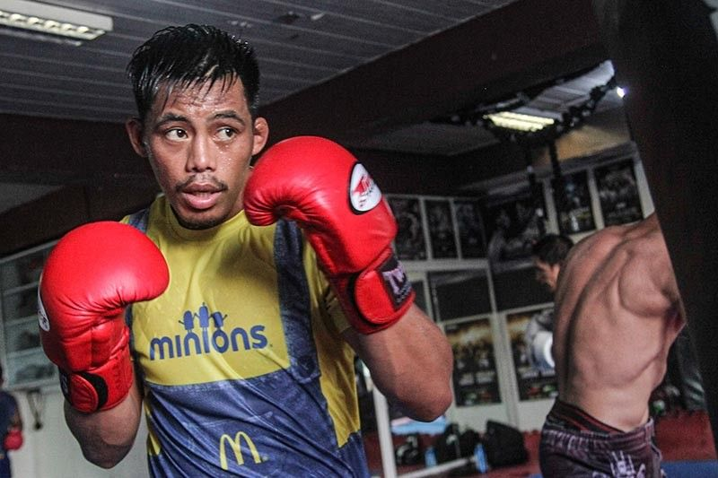 BAGUIO. Former world champion Honorio Banario of Team Lakay is inspired and raring to go all in in his next bout against Timofey Nastyukhin in a lightweight clash on August 2. (Photo by Jean Nicole Cortes)