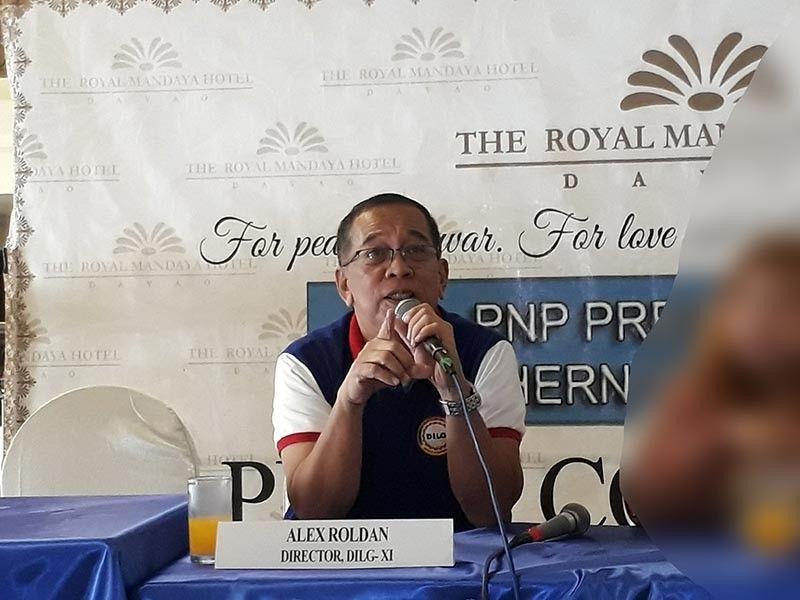 DILG Davao regional director Alex Roldan (Contributed Photo)