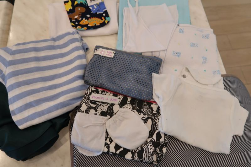 DAVAO. Few clothes to wear for baby and mommy. (Contributed photo)