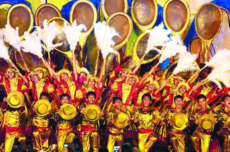 CEBU. Featuring the Rosquillos Festival, the town of Liloan won first place in the ritual showdown of the Pasigarbo sa Sugbo 2012 at the Cebu International Convention Center on August 11, 2012. (Photo by Arni Aclao)