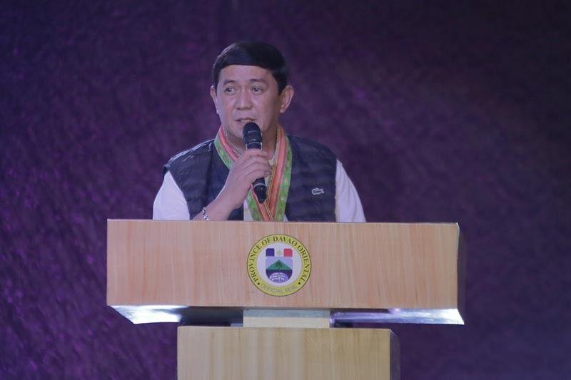 Davao Oriental Governor Nelson Dayanghirang. (Pinaambit nga hulagway)