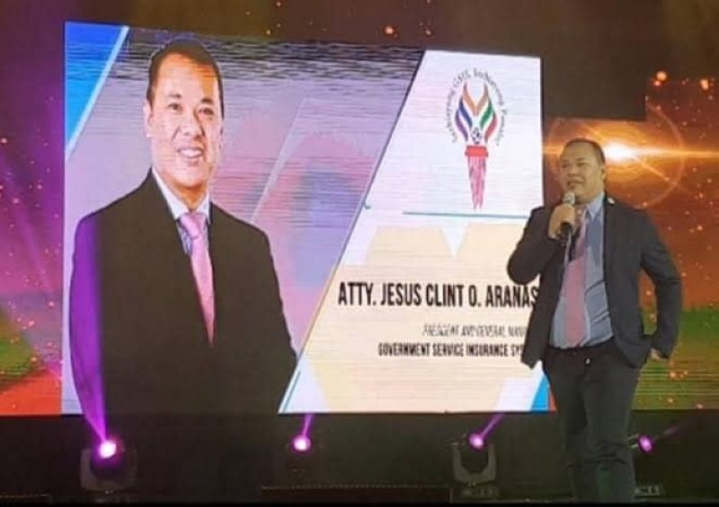 BACOLOD. Government Service Insurance System president and general manager Jesus Clint Aranas. (SunStar File)
