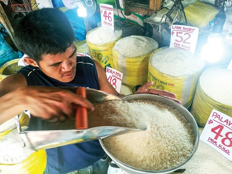 IMPROVE RICE PRODUCTIVITY. The Department of Finance says taxes collected from rice imports will be used to revolutionize the country's agriculture sector and improve the farming methods and equipment used by farmers, among other agri-related programs. (SunStar file)