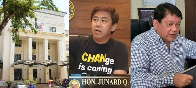 (From left) Cebu City Hall, Lapu-Lapu City Mayor Junard Chan, and former Cebu City mayor Tomas Osmeña. (SunStar File)