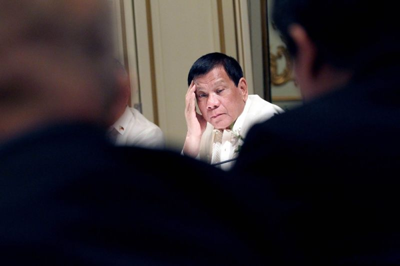 DAVAO. President Rodrigo Duterte. (Stella A. Estremera)