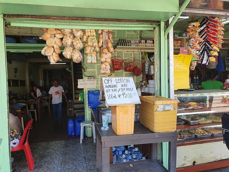 AKLAN. A store in the town of Kalibo is selling Off Lotion to consumers. While Off Lotion is seen as an effective product against dengue, the Department of Trade and Industry warned consumers against fake or defective anti-dengue products. (Jun N. Aguirre)