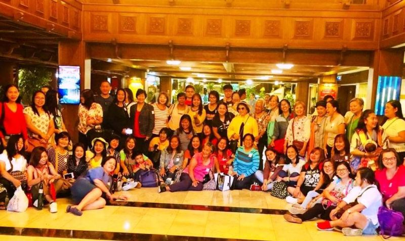 Bangkok. A group picture of the GSP delegates from CAR and Northern Luzon Regions was taken at the hotel lobby. (Debb Bautista)