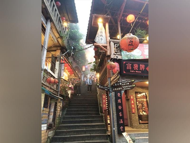 MOST PHOTOGRaphed. Jiufen is one of the most visited tourist attractions in Ruifang District, New Taipei City, Taiwan. With the visa-free extension for Filipinos until July 2020, many Cebuanos are expected to visit Taiwan, which is only three hours away by plane from Cebu. (Sunstar File)