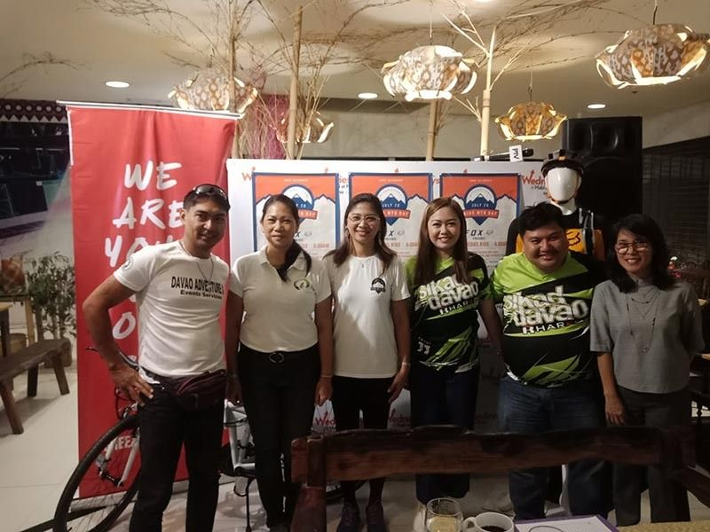 Sikad Davao head Dexter Maxino said there is an increase of bicycle riders here in Davao City. (Lyka Casamayor)