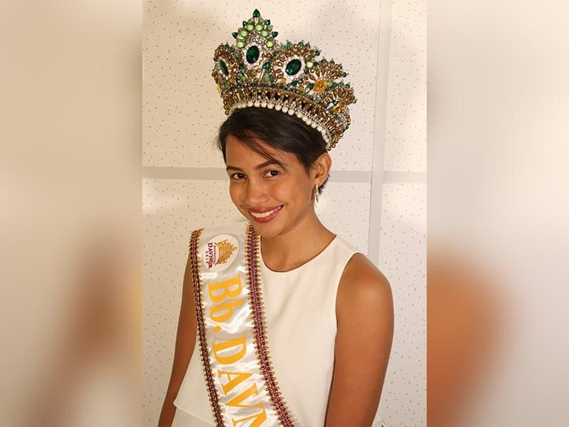 Binibining Davao del Norte Pamela Framil. (Contributed Photo)