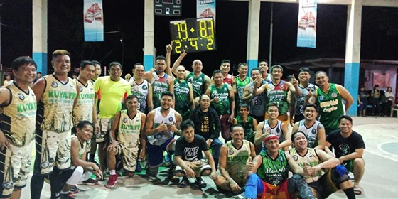 CAGAYAN DE ORO. The Green CdeO Eagles Club dribblers after their sweeping victories in the 2019 NMR-1 basketball tournament. (Contributed photo)