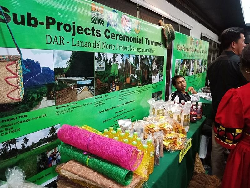DAVAO. The Department of Agrarian Reform turned over a total of P128 million worth of sub-projects to the beneficiaries in Davao Region to increase  production and income of farmers. (Lyka Casamayor)