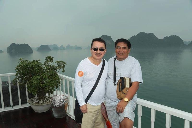 .DAVAO. SPCH founder Dr. Rodolfo Esteves and co-founder Dr. Felomino Gargar. (Apple G. Alvarez)