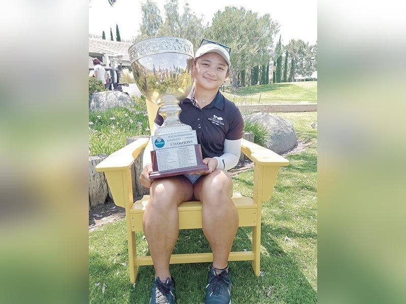 SUPER SUPERAL. Eagle Ace Superal  wins in the 12th FCG International Championship in California. She will compete next in the Junior Worlds, which starts on Tuesday. (Contributed Photo )