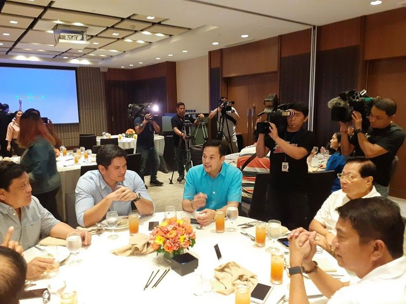 Party-list Coalition meeting at Marco Polo Ortigas in Metro Manila on Tuesday, July 9, 2019. (Photo by Ryniel Berlanga)