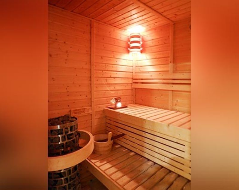 The spa's sauna room. (Photo by Jinggoy I. Salvador)