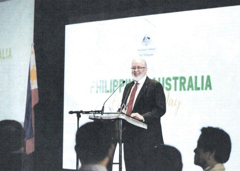 VIP. Amb. Steven Robinson, Australian ambassador to the Philippines.