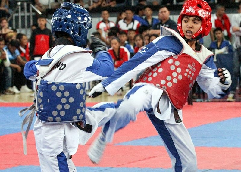 BAGUIO. Combative sports such as taekwondo is once again expected to deliver for Baguio City in the Batang Pinoy National Finals slated August 25 to 31. (Photo by Jean Nicole Cortes)
