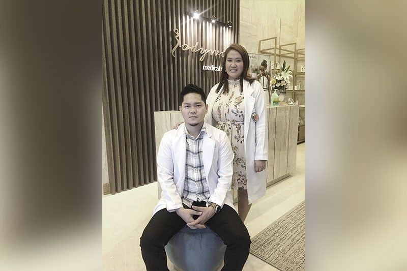 """""""SIX-STAR PAMPE-RING EXPE-RIENCE."""" Couple and aesthetic doctors Andy and Sugar Mantilla want to help men and women unleash the youthful glow they  deserve. (Contributed Photo)"""