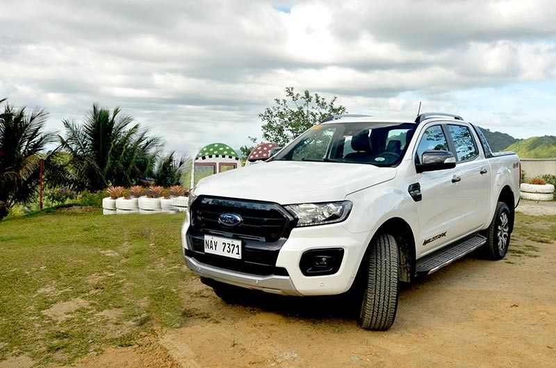 """MADE FOR TOUGH ROADS. Guests were divided into two-car convoys cruising rugged routes, each using Ford's top-of-the-line Ranger Bi-Turbo Wildtrak 4x4 AT and Turbo Wildtrak 4x2 Atm. The new """"Built For Tough"""" Ranger expands on its capacities and off-road credentials to cater to its customers' diverse lifestyles. (Contributed Photos)"""