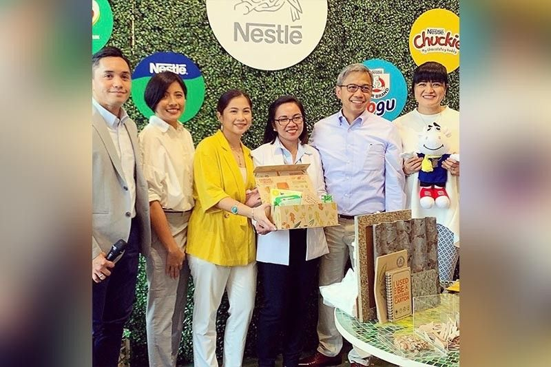 During the launch of Nestlé's Ready-To-Drink (RTD) Baon Subscription Service, representatives from Nestlé, GoodFood.ph and Tetra Pak explained the mechanics of this first-of-its kind offering in the Philippines.
