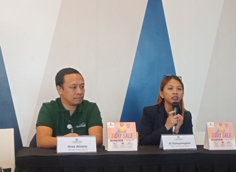 DAVAO. Davao City Water District (DCWD) spokesperson Jovana Cresta Duhaylungsod says businesses and households in Davao City will be affected by water interruption in the last week of July. (Lyka Casamayor)