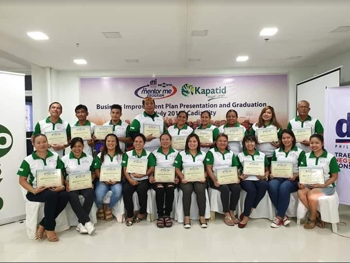 BACOLOD. The third batch of mentees, or recipients of the