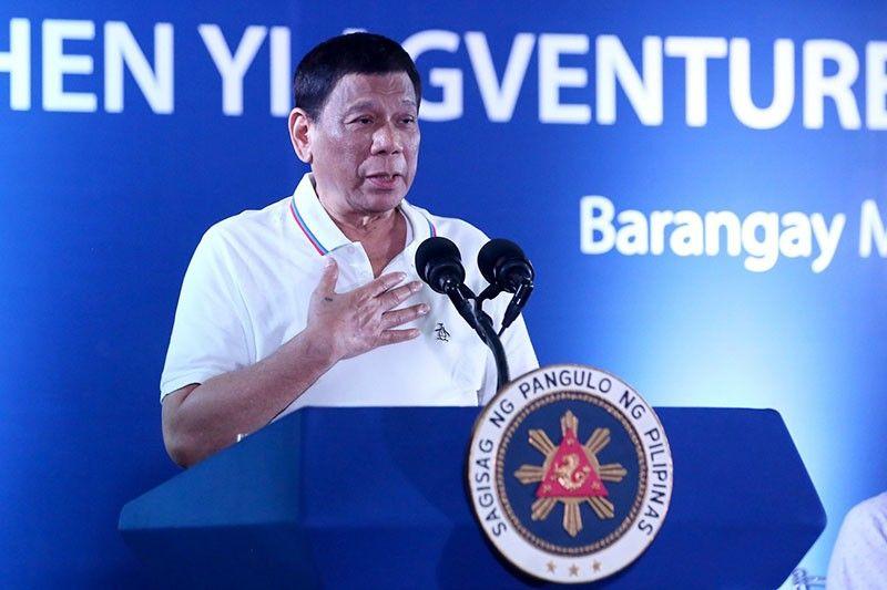 President Rodrigo Duterte (Photo taken from Presidential Communications Facebook page)