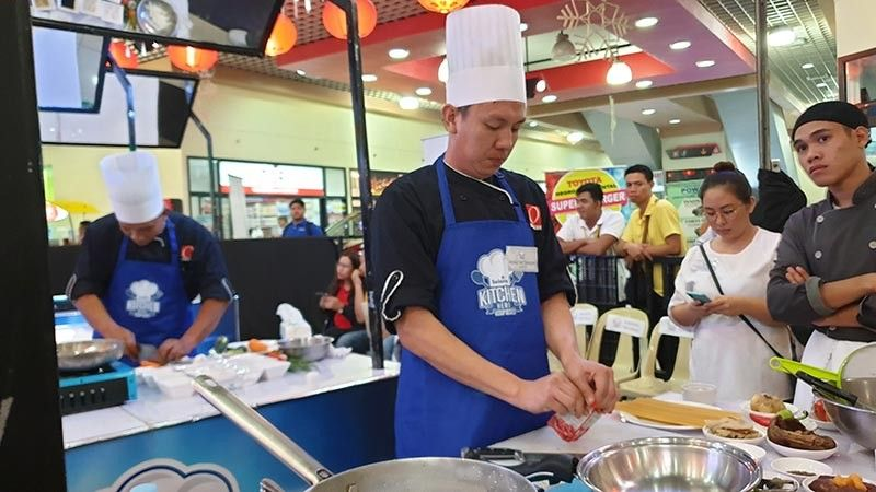 Contestants of the Solane Kitchen Hero Chefs competition cooked their dishes at the event center of 888 Premier Chinatown Mall at Gatuslao Street, Bacolod City, Friday July 12, 2019. (Teresa Ellera)