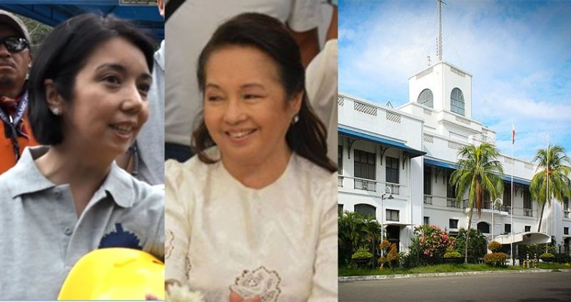 CEBU. (From left) Luli Arroyo-Bernas, former President Gloria Macapagal-Arroyo, and facade of the Malacañang sa Sugbo. (File photos)