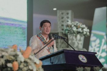 Governor Nelson Dayanghirang. (Photo by Ace June Rell S. Perez)