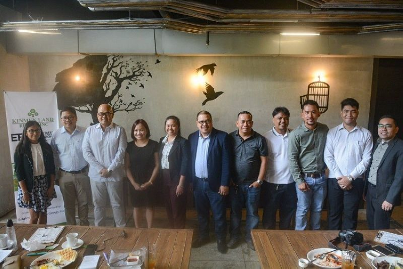 CEBU. Kinmen Land Realty Inc. and Estates and Frontiers Group (EFG) signed a memorandum of agreement on Tuesday, July 16, 2019. (Photo by Arni Aclao)