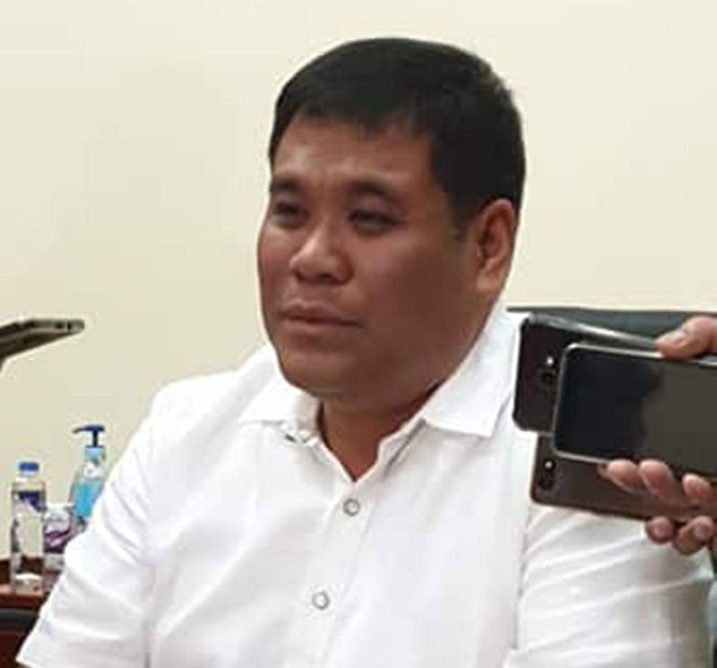 BACOLOD. Vice Governor Jeffrey P. Ferrer says blood is thicker than water. (Teresa D. Ellera)