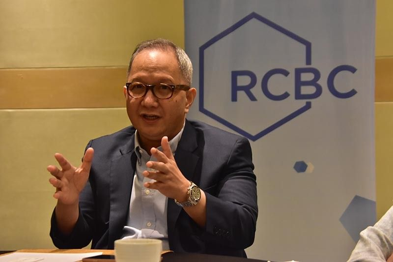DAVAO. With the Build, Build, Build program of the government, Eugene S. Acevedo, RCBC President, said they are optimistic that bank lending in Mindanao will continue to grow. (Photo by Macky Lim)