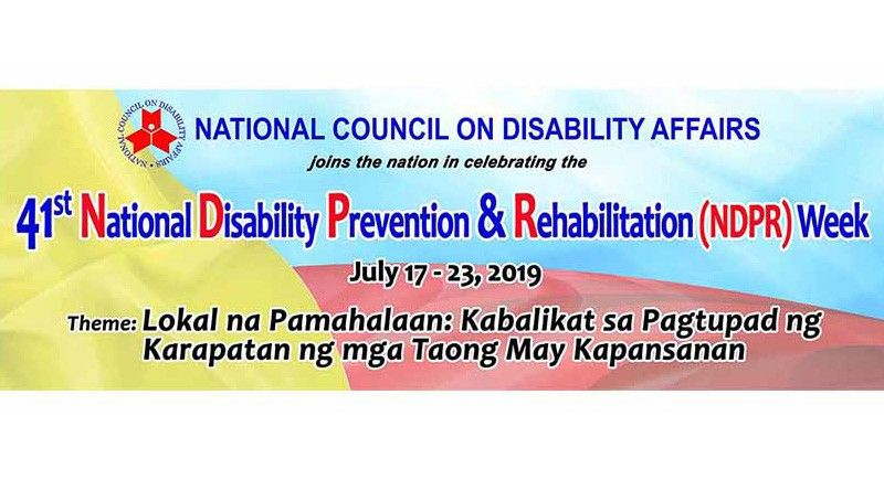 (Logo grabbed from National Council on Disability Affairs' Facebook)