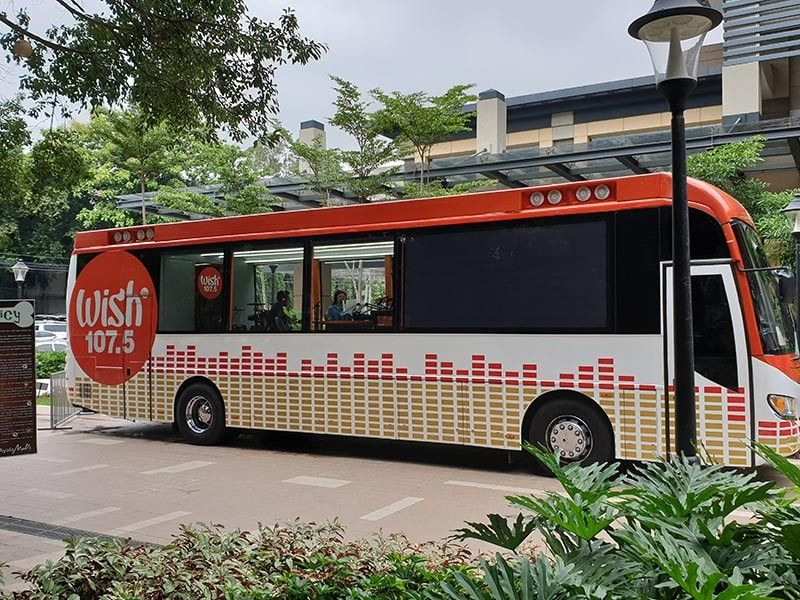 BACOLOD. The Wishcovery Originals brought their Wish 107.5 Bus to Ayala Malls Capitol Central at Gatuslao Street in Bacolod City last July 15 to 17, 2019 to allow talented Bacolodnons and Negrense to audition for their own composition. (Photo by Carla N. Cañet)