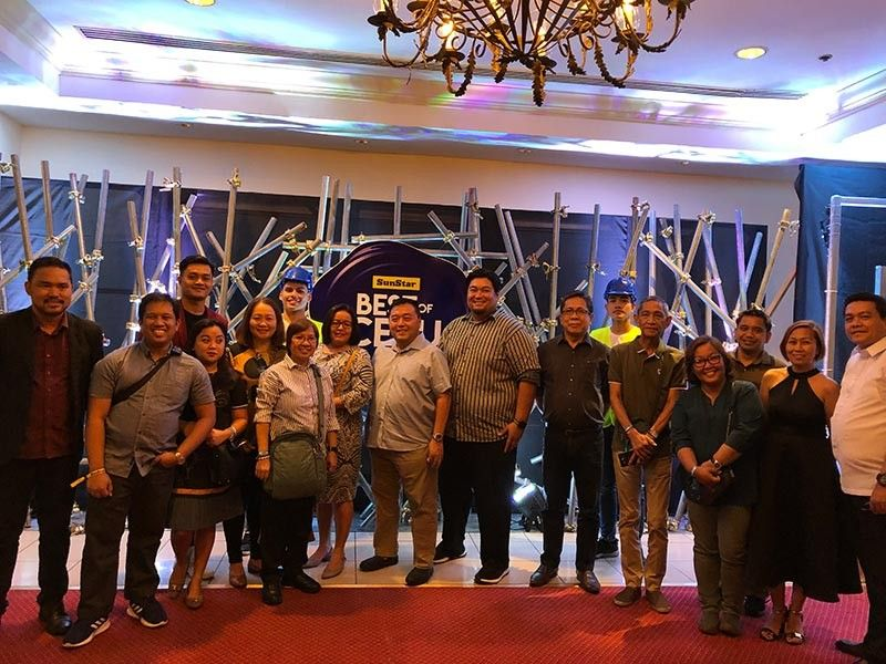 CEBU. Editors-in-chief, marketing heads, and general managers from the different SunStar Davao Philippines affiliates -- Davao, Cagayan de Oro, Bacolod, Pampanga, and Baguio -- during the Best of Cebu Party with SunStar Chairman Julius G. Neri. (Reuel John F. Lumawag)