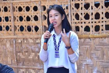 Salugpungan executive director Meggie Nolasco. (Photo by Macky Lim)