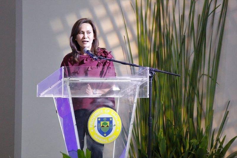 Tarlac Governor Susan Yap – (PIA file photo)