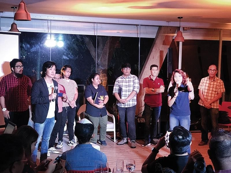 FINALISTS. Songwriters and artists performing at the Visayan Music Awards this July 27 were presented to the media during a Listening Party at Asmara Urban Resort & Lifestyle Village, July 19.