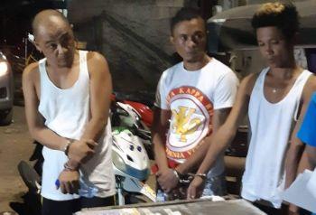 CEBU. Giila ang dinakpan nga si Alvin Cabañero, 45, kinsa mao'y subject sa operasyon. Si Alvin ang igsuon ni Barangay Konsehal Ican Cabañero. (Hulagway iya sa  Talisay City Police Station)